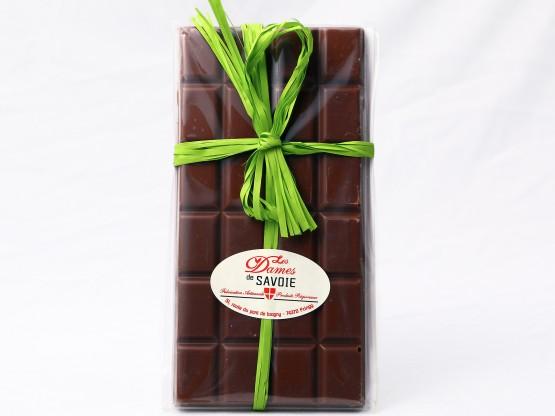 Tablette de chocolat artisanal lait