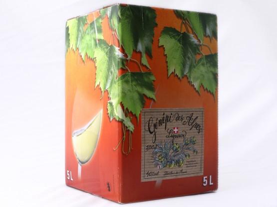 Cubis de Génépi 5L